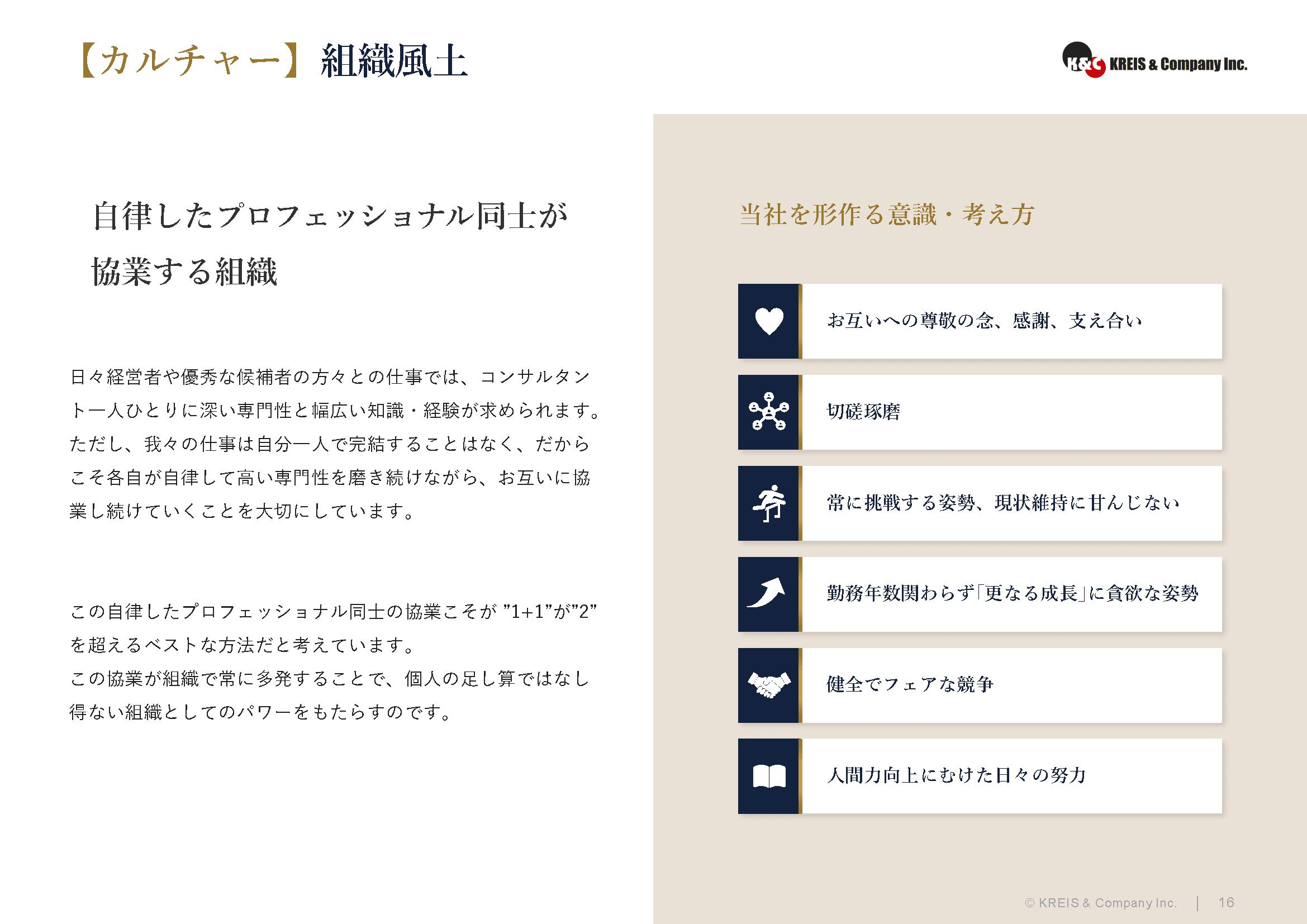 【カルチャー】組織風土