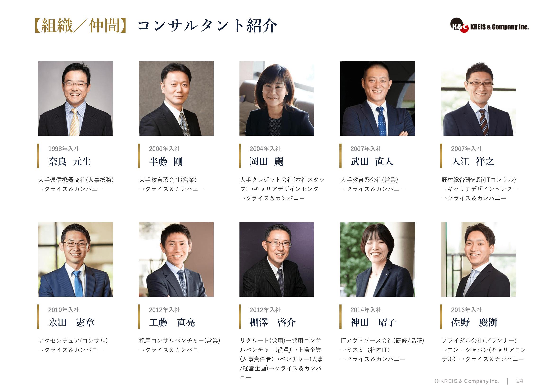 【組織/仲間】コンサルタント紹介