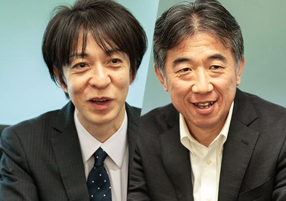 インタビュー記事:オリンパス株式会社の松浦靖氏の写真